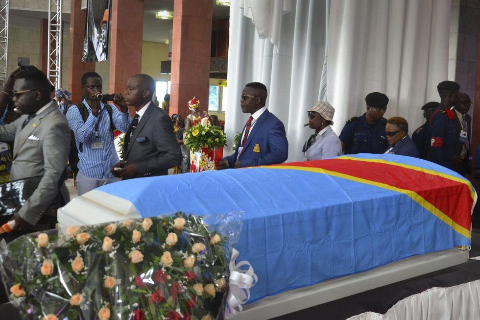 Il funerale di Papa Wemba a Kinshasa - FOTO