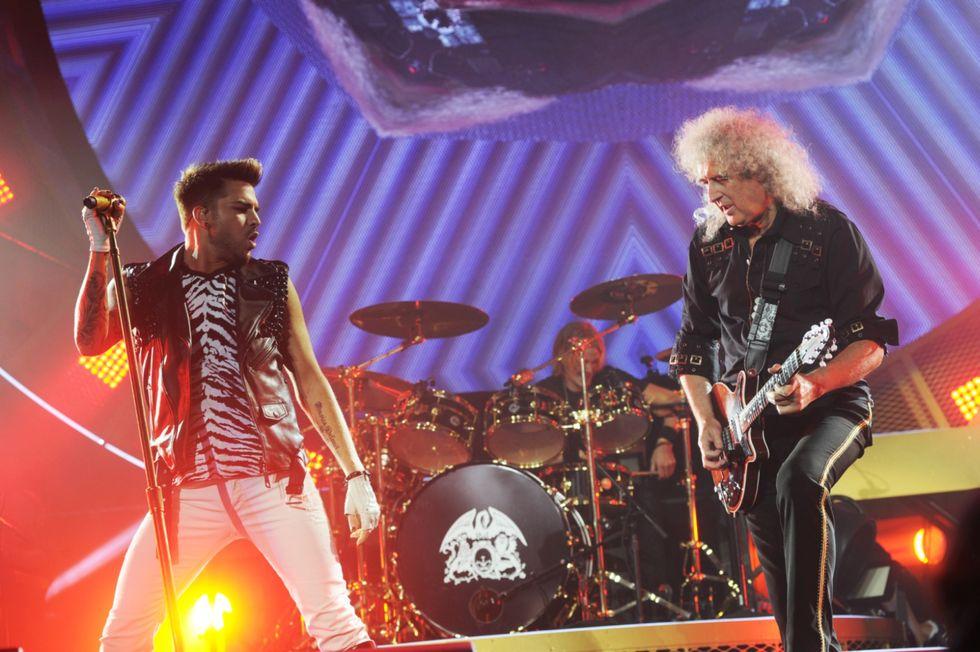 Adam Lambert e i Queen live a Chicago