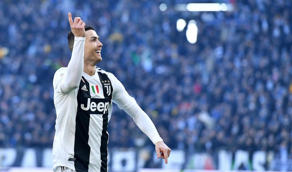ronaldo juventus record 2018 punti vittorie gol