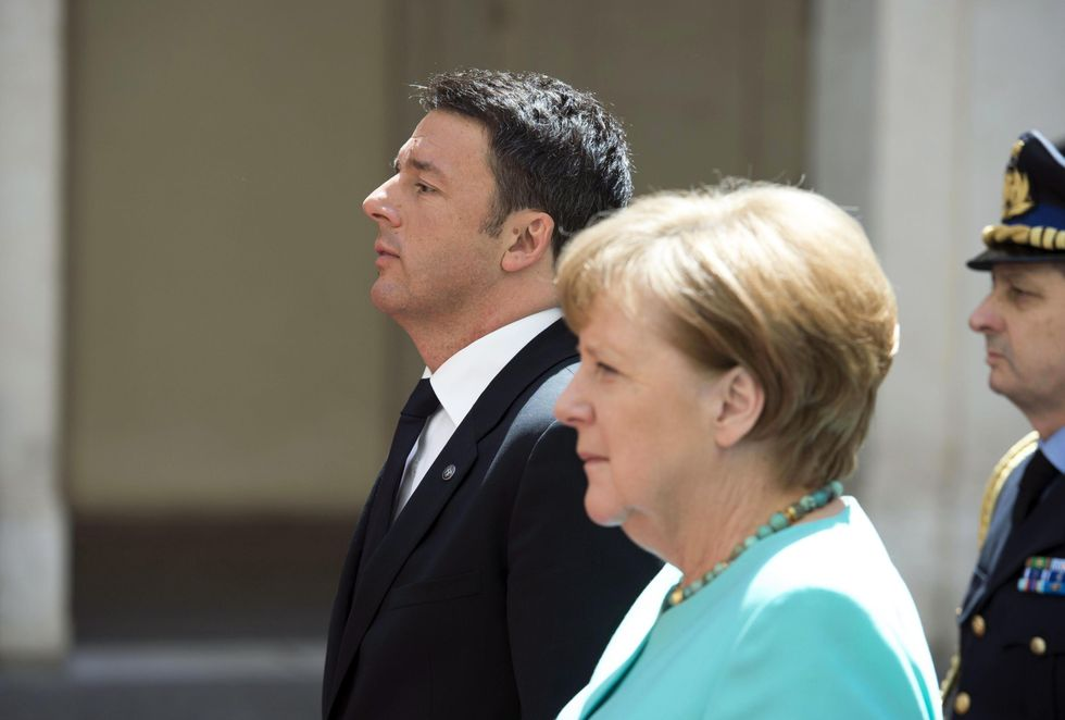 "Migranti, bilaterale Italia-Germania. Merkel: ""Sui finanziamenti, idee diverse"""