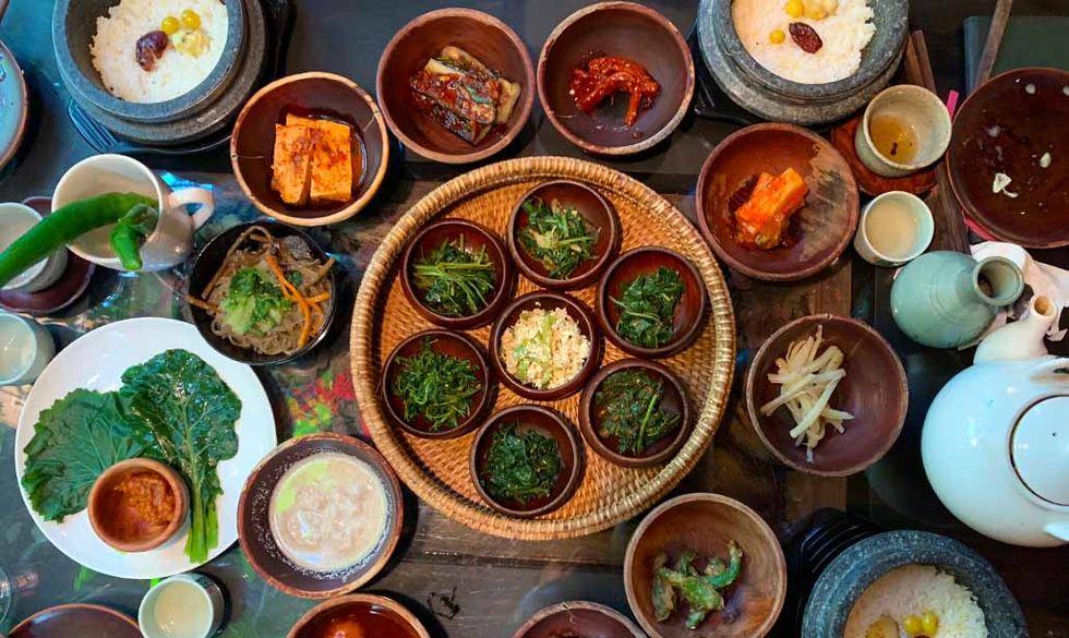 Pranzo coreano