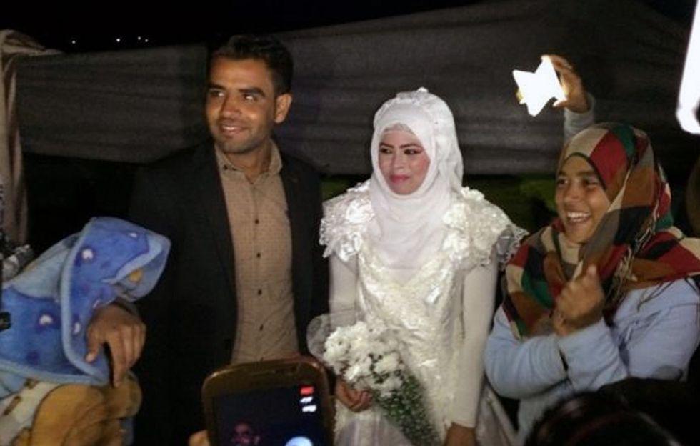 Un grosso grasso matrimonio greco a Idomeni