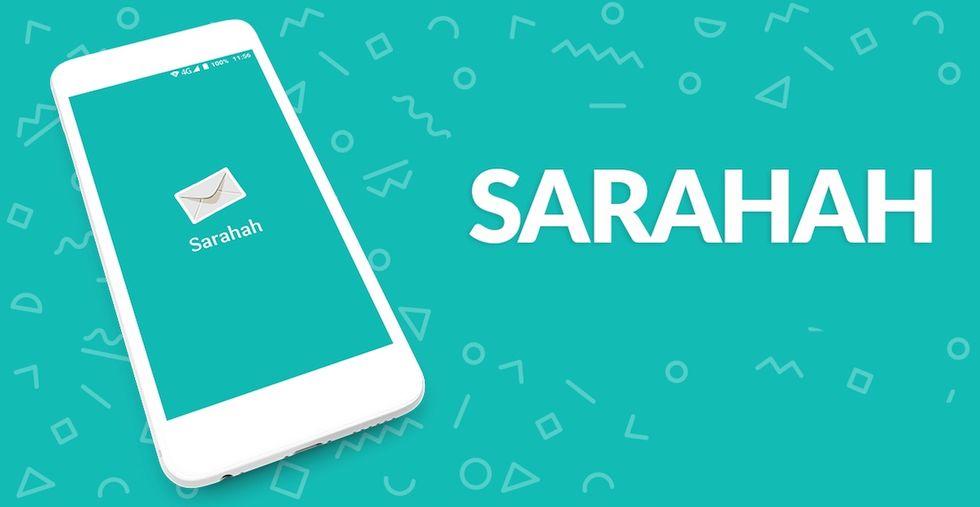 sarahah spia