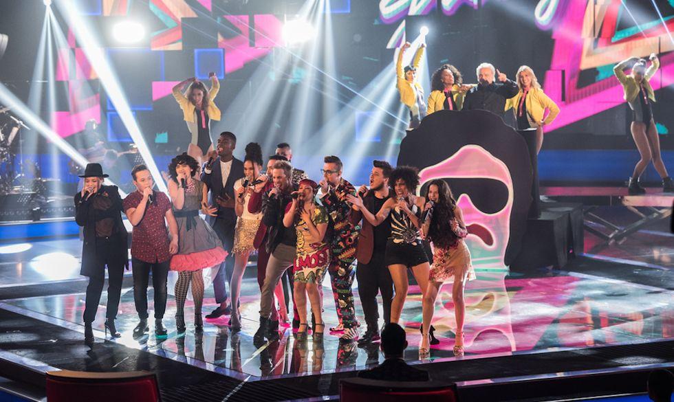 Giorgio Moroder ospite del secondo live di The Voice 4