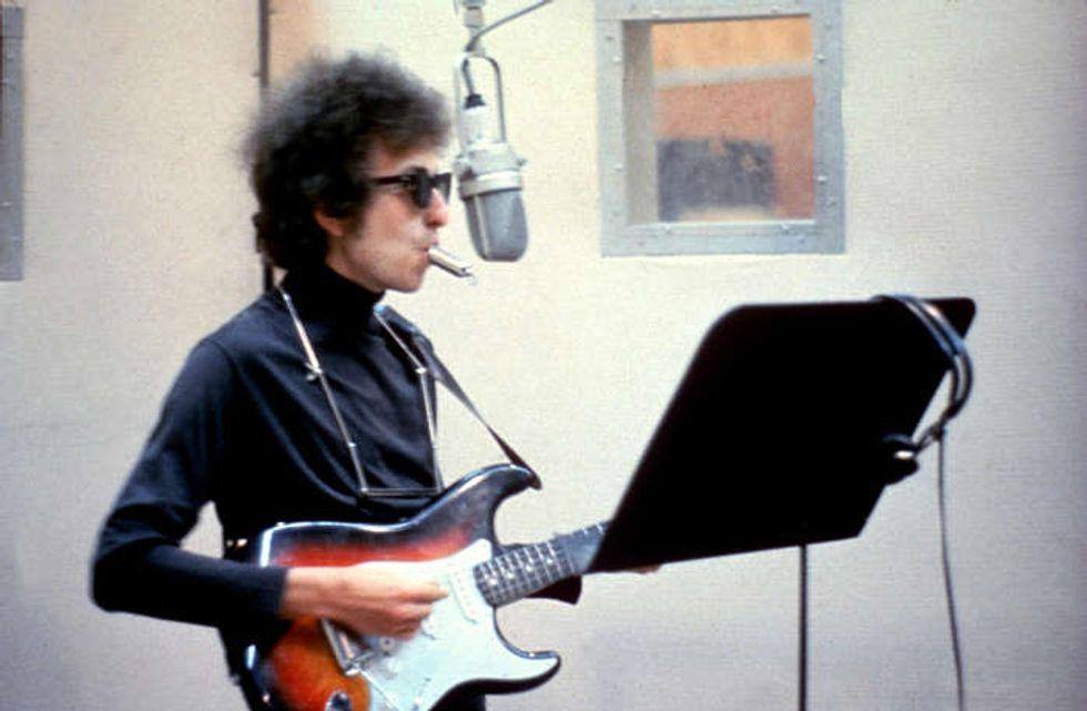 Bob Dylan incide We are the world: le immagini inedite