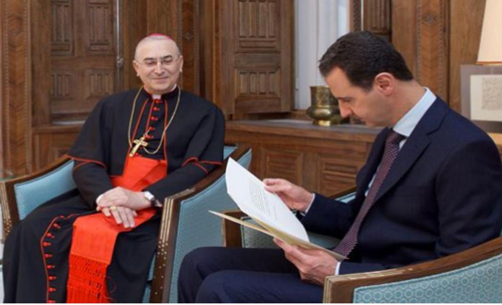 La lettera di Bergoglio ad Assad