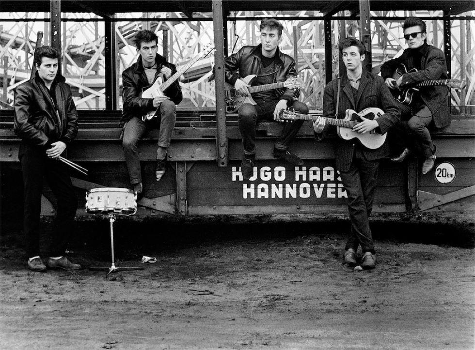 Astrid Kirchherr: le foto dei Beatles inediti in mostra a Bologna