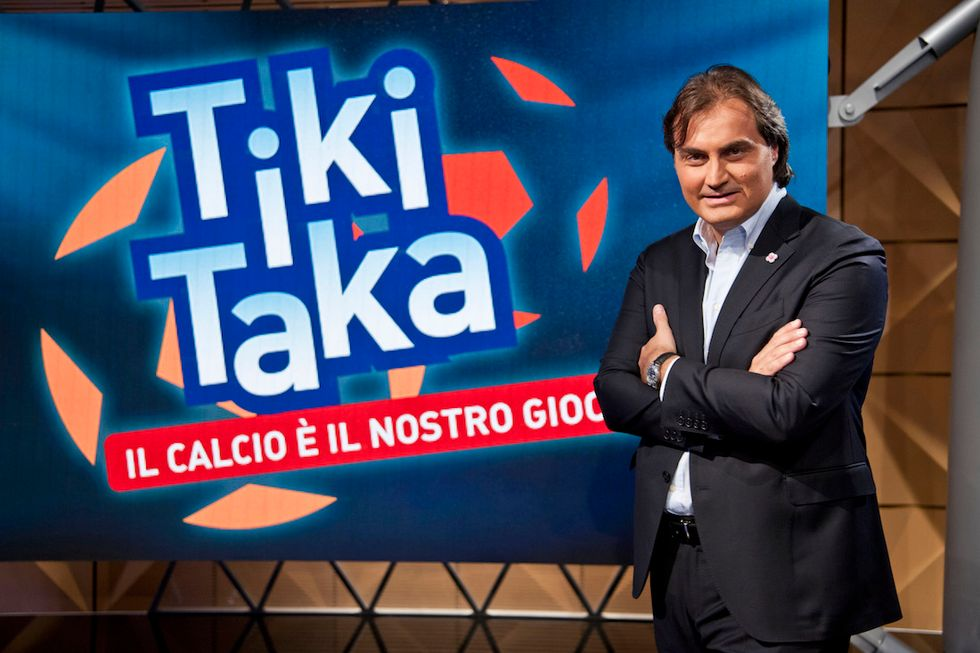 Pierluigi Pardo Tiki Taka Italia 1