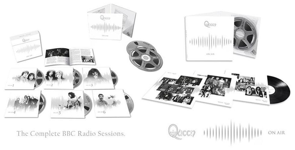 """""""Queen On Air"""" raccoglie tutte le sessions per la BBC"""