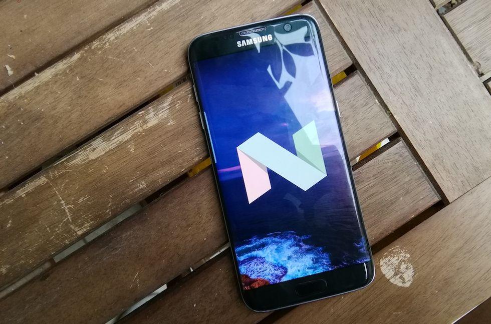 Android Nougat trasforma il Galaxy S7 in un Note7 (ma senza problemi)