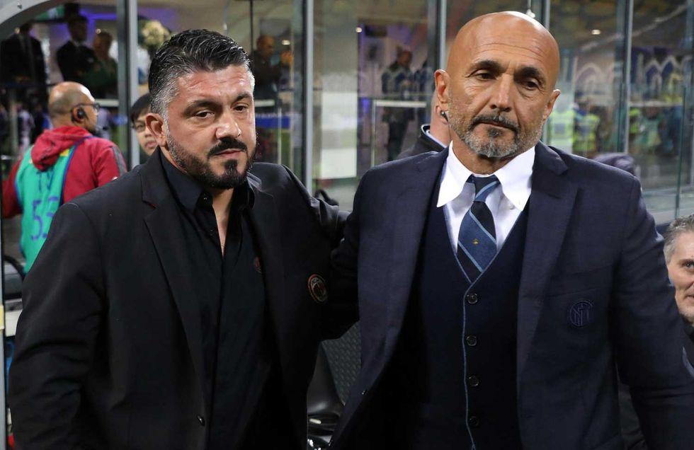 Gattuso-Spalletti-allenatore