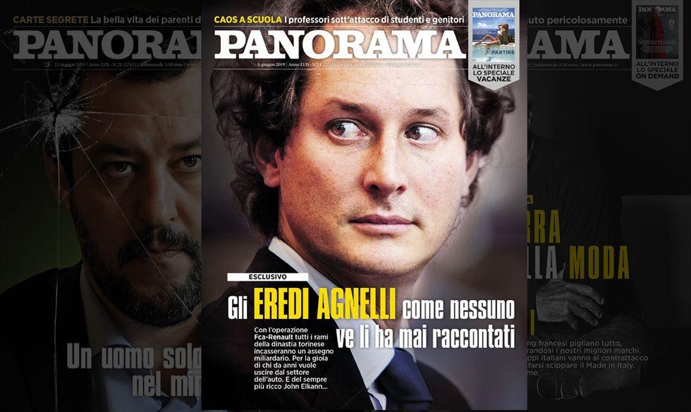 copertina Panorama Agnelli