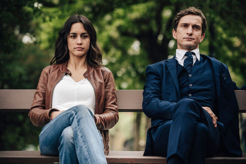 Megan Montaner e Alessandro Tiberi
