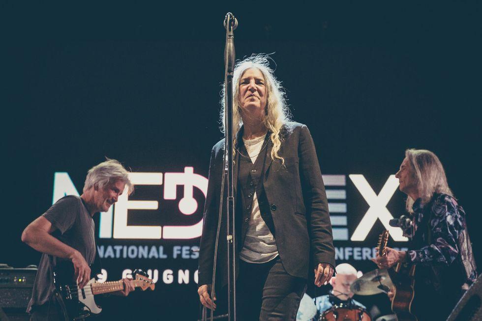 Liam Gallagher e Patti Smith conquistano il Medimex di Taranto