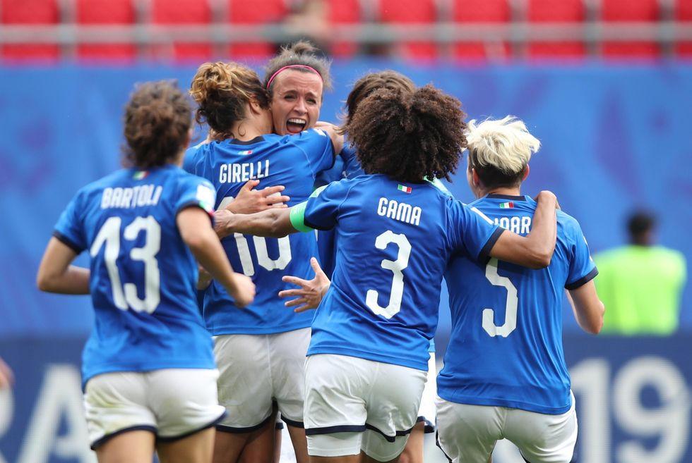 italia femminile mondiali immagini