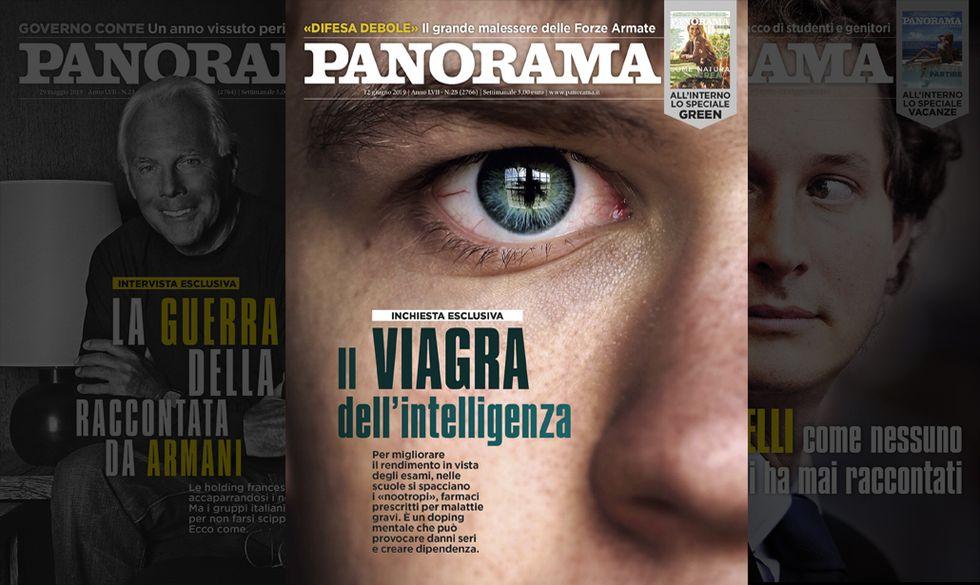 Il Viagra dell'intelligenza - Panorama in Edicola