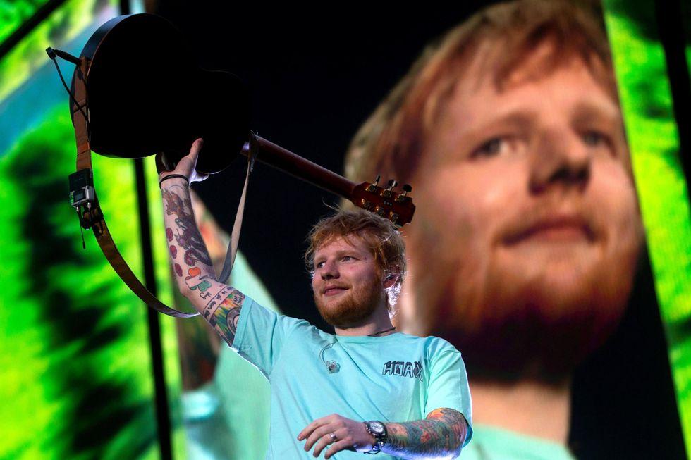Ed Sheeran vince la Champions del pop a Roma - Recensione