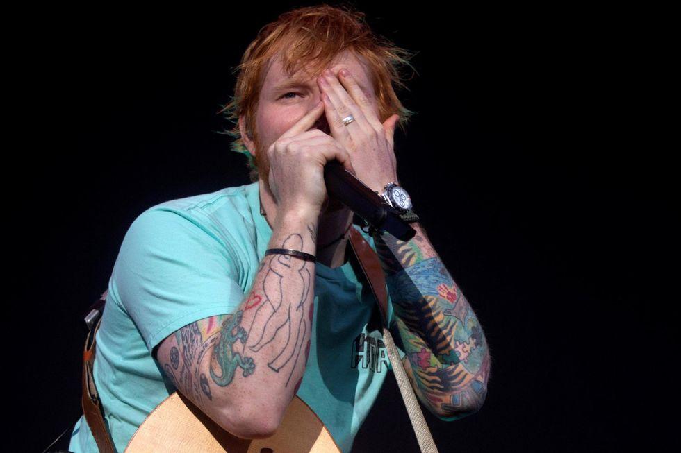 """Ed Sheeran: """"No.6 collaborations project"""" è il suo album più """"black"""""""