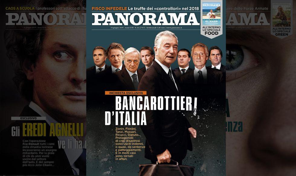 Bancarottieri d'Italia - Panorama in edicola