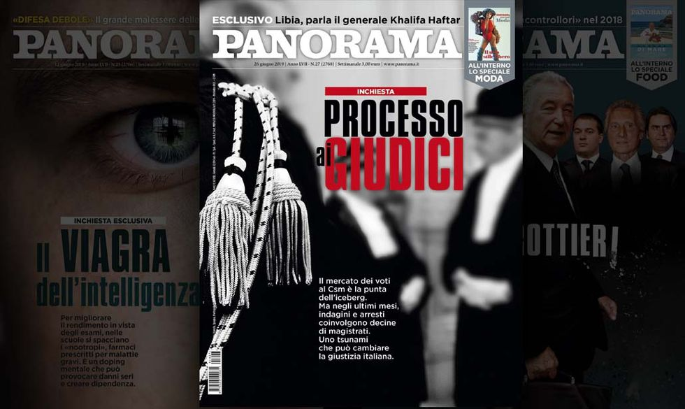 Processo ai Giudici - Panorama in edicola