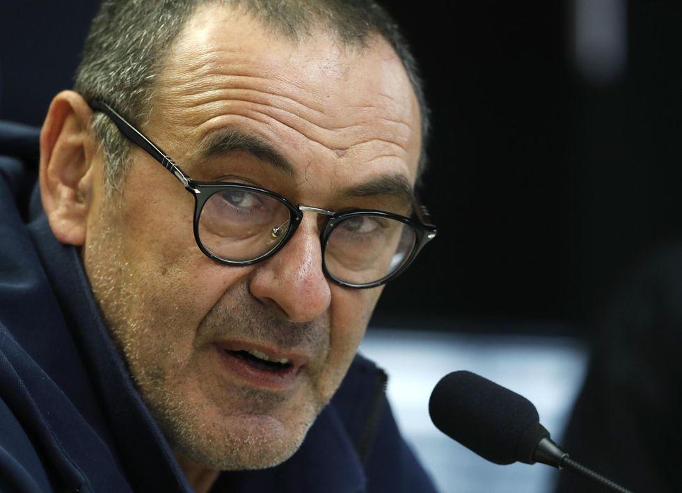 maurizio sarri juventus presentazione conferenza stampa