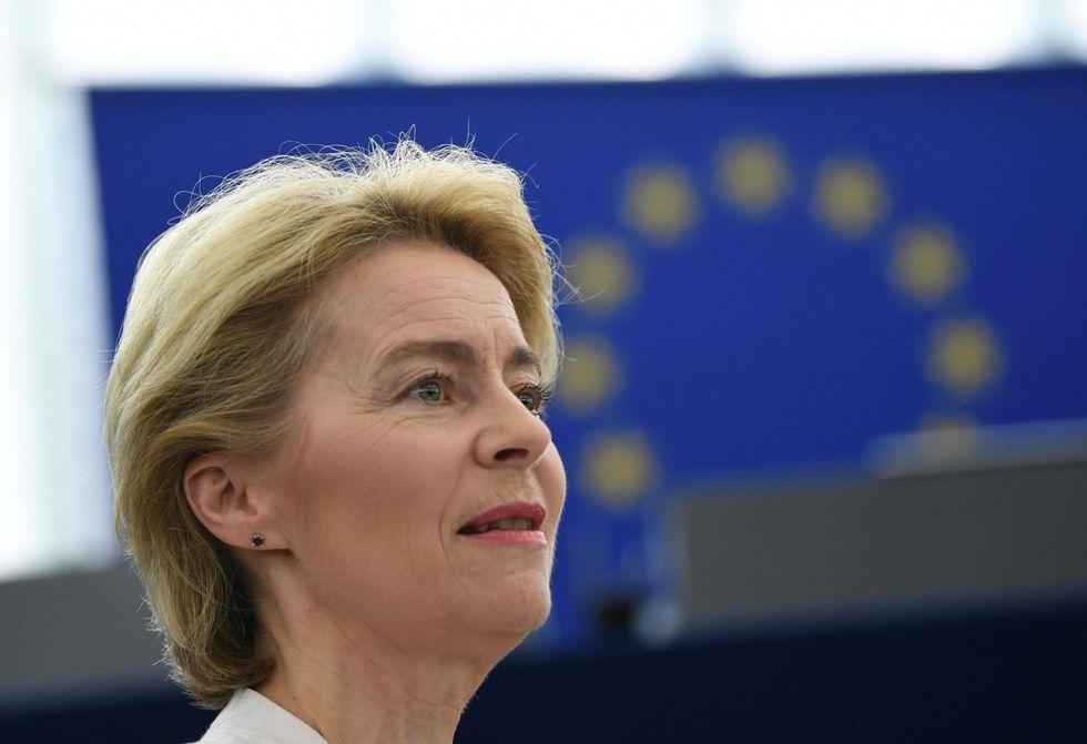 Ursula von der Leyen commissione europea