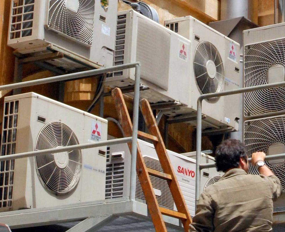 condizionatore aria condizionata