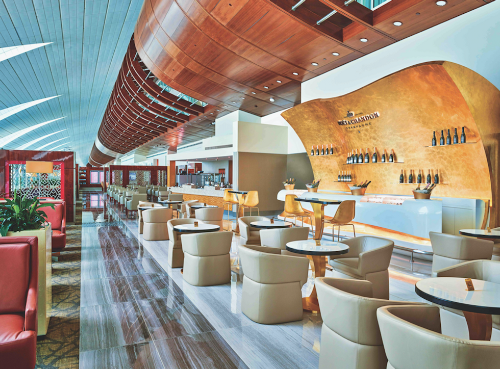 Aeroporti, le lounge più belle del mondo