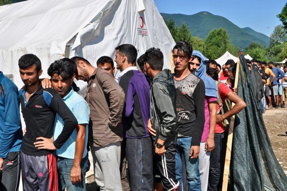 Migranti Bosnia confine Italia
