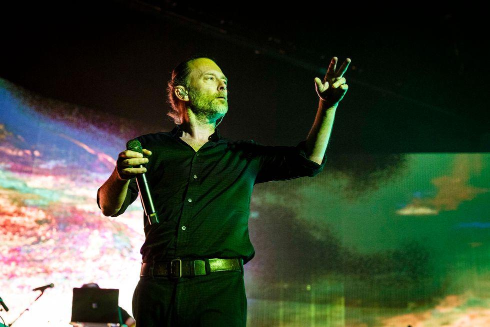 Thom Yorke incanta Roma con la sua elettronica destrutturata