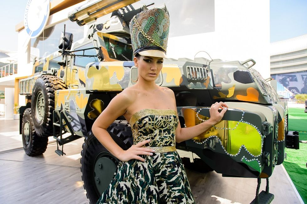 Here is why the camouflage fashion trend comes from Italy