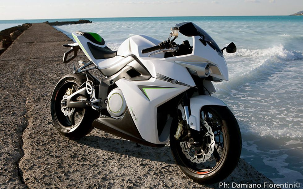 Introducing Italian new all-electric superbike