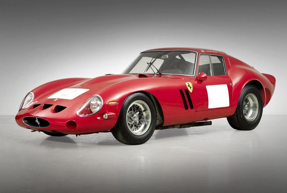 Red Ferrari Coupe' sold for US$ 38 million