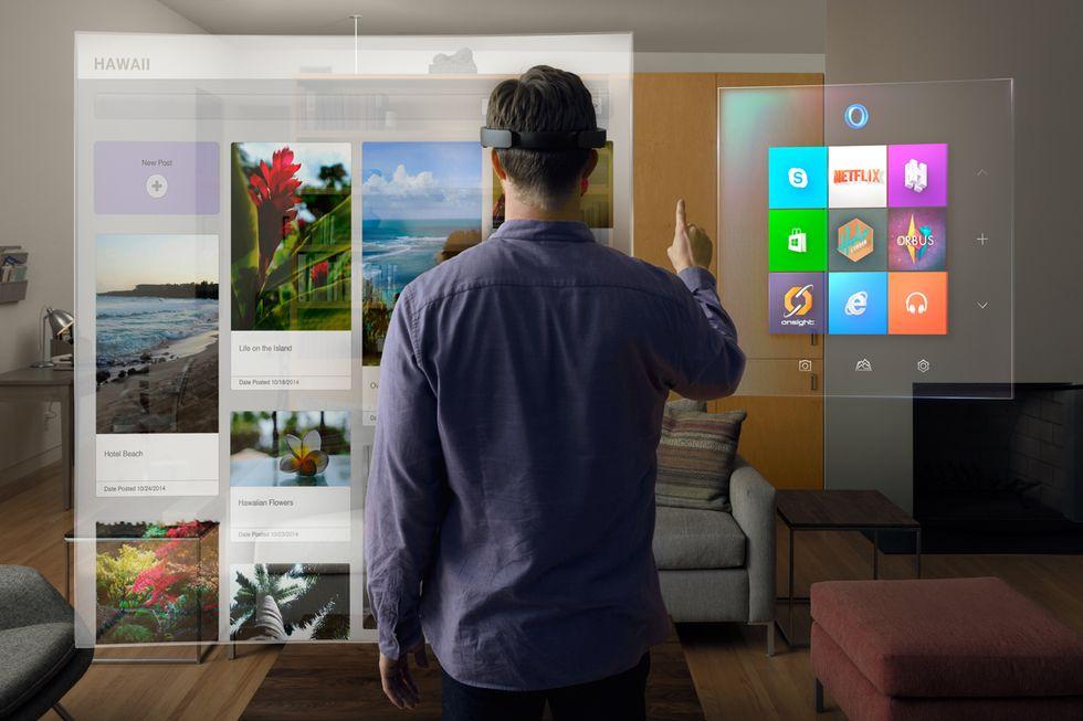 Microsoft HoloLens: così gli ologrammi ci cambieranno la vita