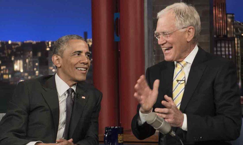 L'ultimo Letterman, l'ultimo Obama