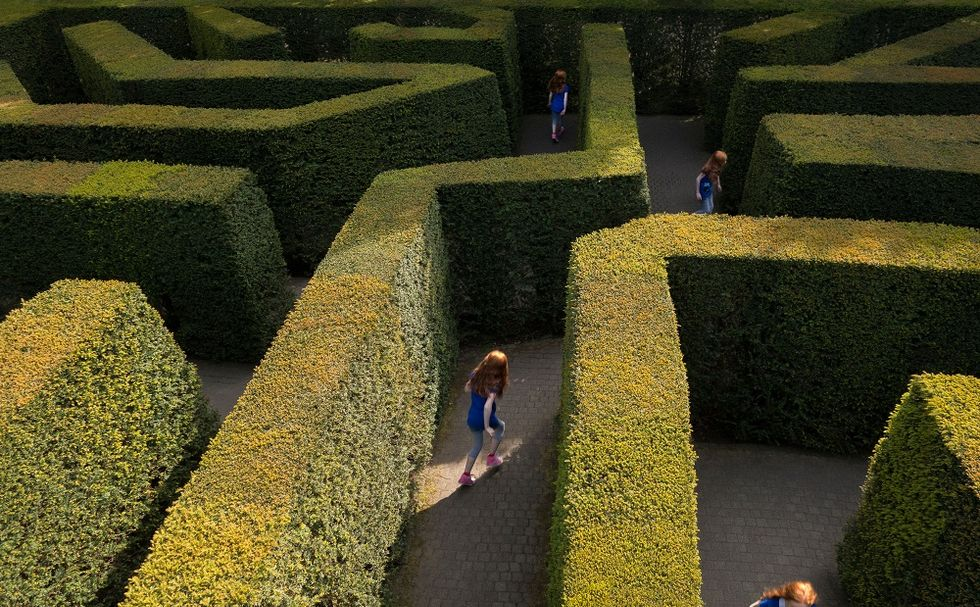 Welcome to Franco Maria Ricci's Labirinto, the biggest maze in the world