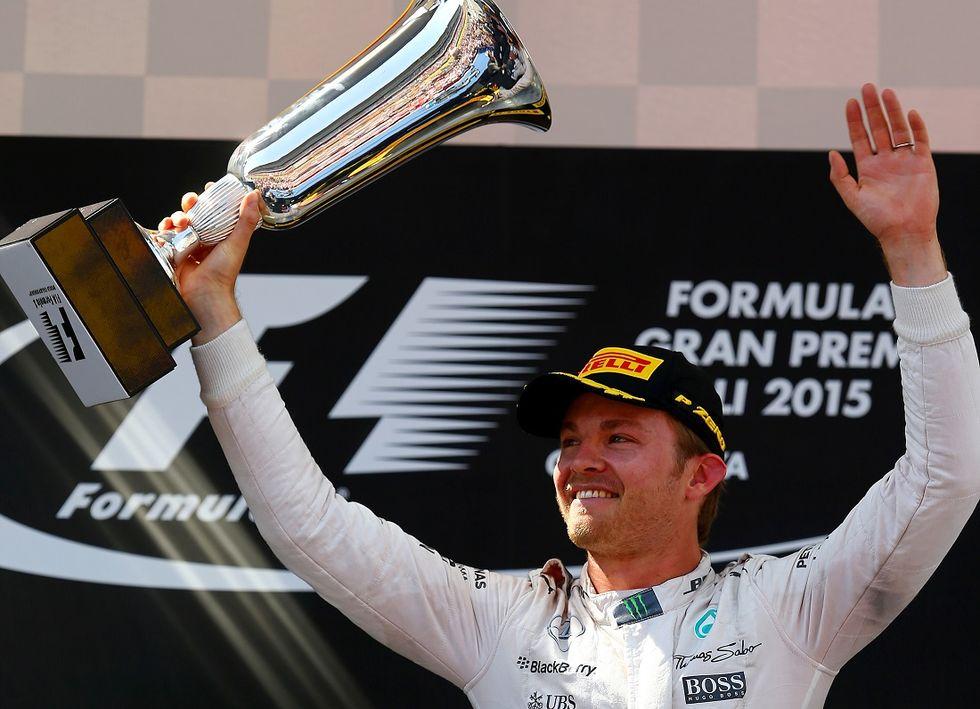 Gp Spagna: vince Rosberg. Ferrari terza con Vettel