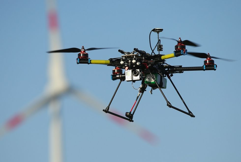 The drone business in Italy