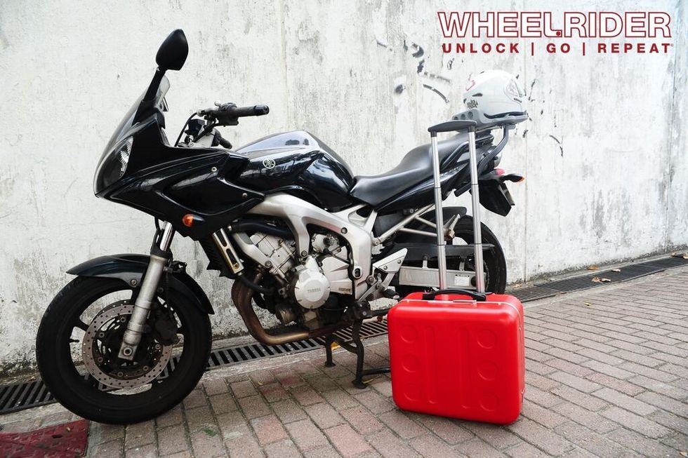 Wheelrider, a revolutionary case for bikers