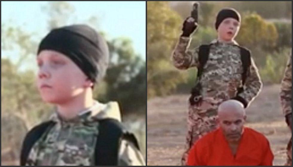 Isis, il video del boia-bambino inglese