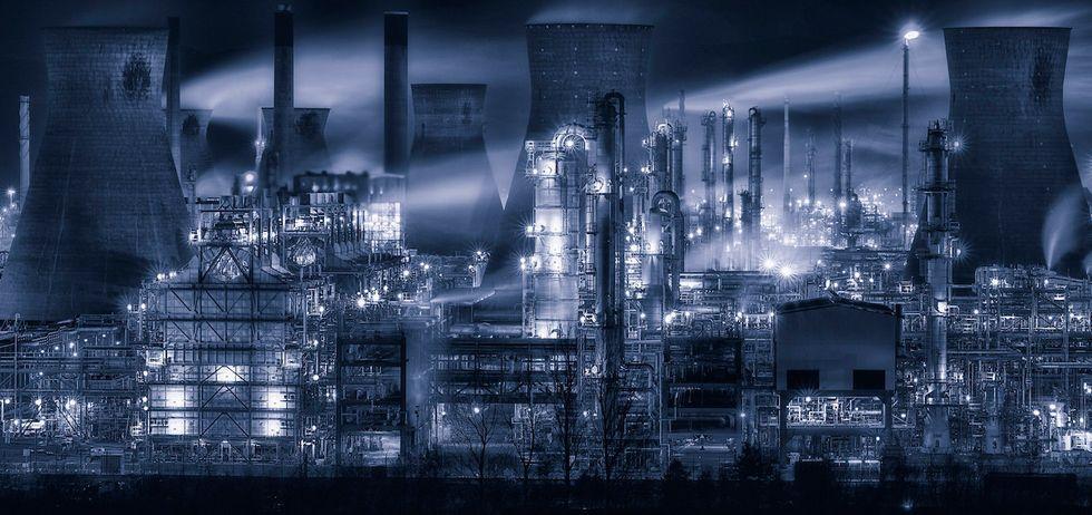 centrale petrolchimica iran