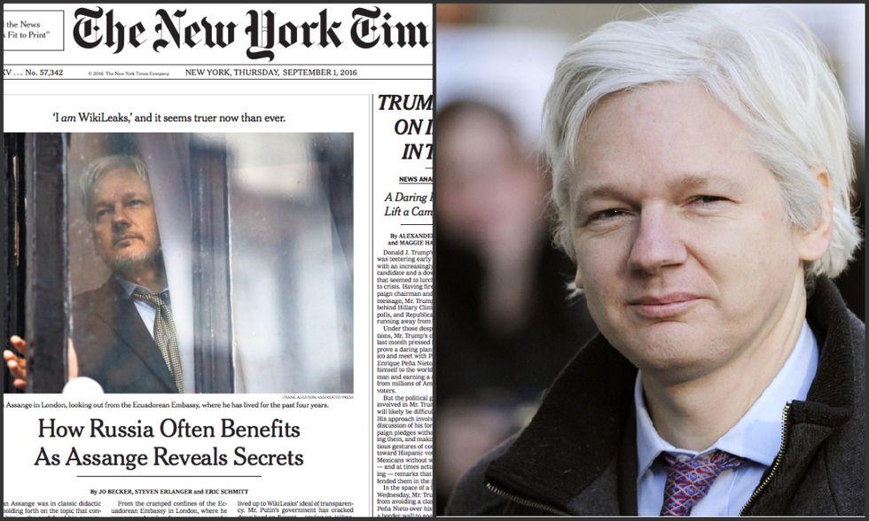 Assange-new-york-times
