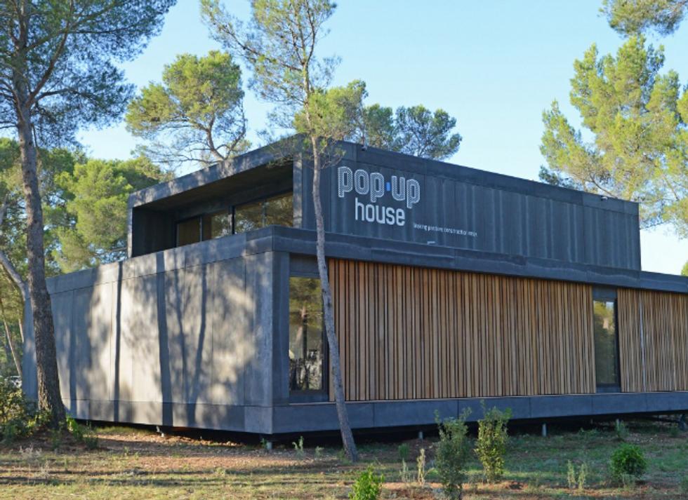 Ecco la casa pop-up (costruibile in 4 giorni)