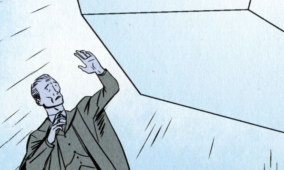 'L'ombra venuta dal tempo' di Lovecraft a fumetti