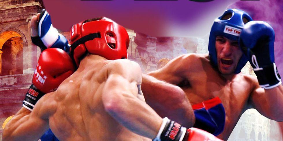 Roma: per una notte il Foro Italico tempio della kickboxing