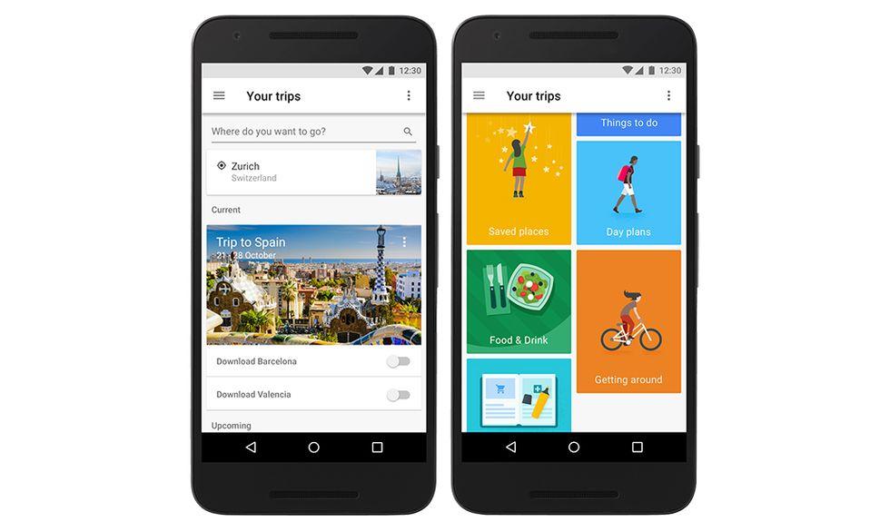 Google Trips: tutto il viaggio in un'app