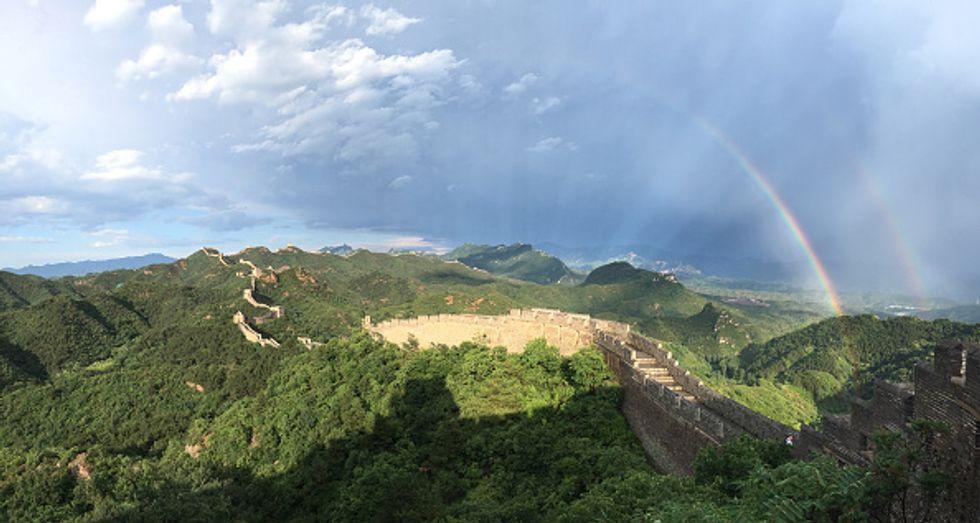 La Grande Muraglia cinese crolla, al via la raccolta fondi