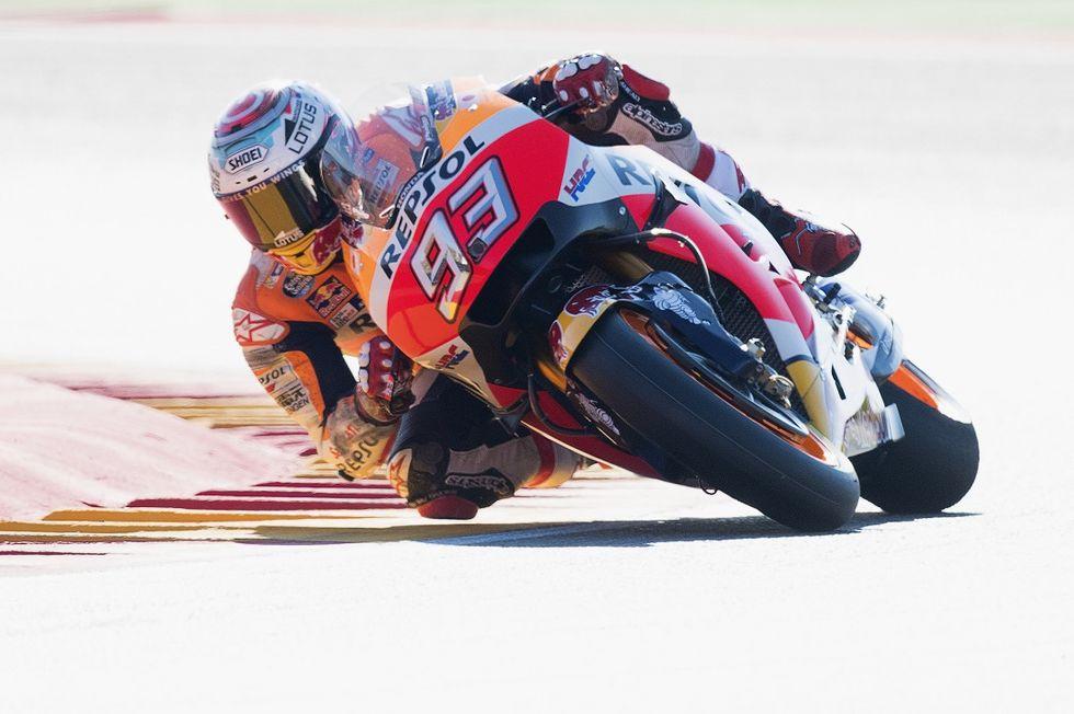 MotoGp, Gp Aragon: Marquez batte Rossi e ipoteca il mondiale