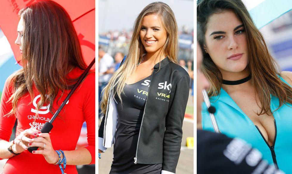 Grid Girls MotoGP di Aragon 2016
