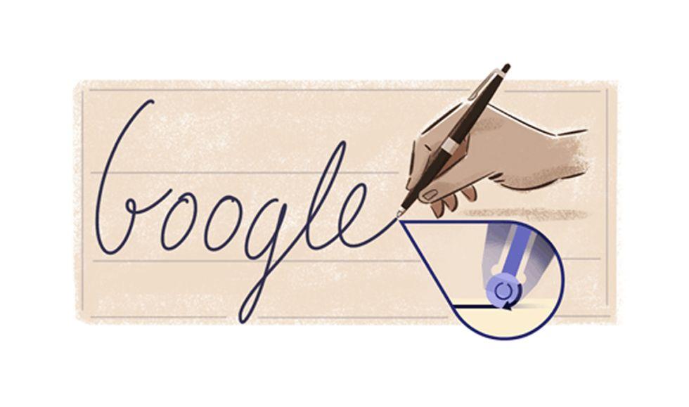 29 settembre: il doodle di Google ricorda Biro e la sua penna a sfera